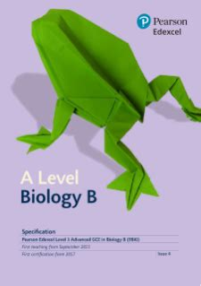 Biology Coursework As Edexcel - GCE Advanced Level